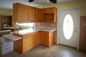 furniture lovely kitchen cabinet refacing with cream countertop