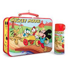 mickey mouse friends lunchbox thermos 2017 hallmark keepsake