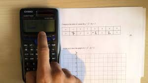 complete the table calculator calculator hacks 7 table of values using casio fx 85gt youtube
