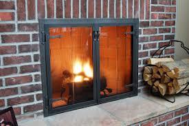 fireplace door glass replacement fireplace doors guide