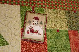 spring water designs my little quilted christmas card holder on