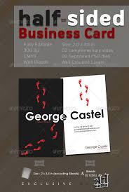 sided business card template illustrator 28 images adobe