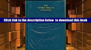 audiobook the oxford book of aphorisms full book video dailymotion
