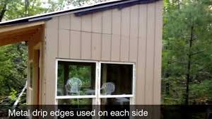 Tiny Cabin Tiny Cabin 8x8 Shack In Da Woods Part 3 Youtube