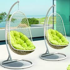 home design outdoor hanging chair with stand sloped ceiling