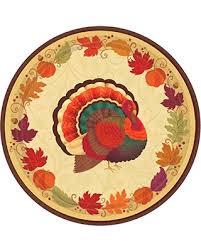 slash prices on amscan turkey thanksgiving dinner