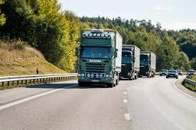 scania trucks singapore hosts first full scale autonomous truck platoon trial