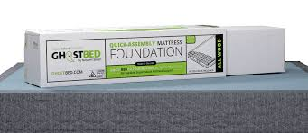 King Mattress Foundation Ghostbed Foundation Product Page Ghostbed