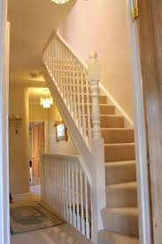 Painted Banisters Loft Stair With Painted Railing Types Of Loft Stairs