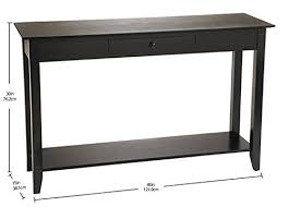 convenience concepts console table convenience concepts american heritage console table with drawer and