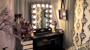 Bedroom Makeup Vanity With Lights Bedroom Makeup Vanity With Lights Bulb Ideas Decorate Bedroom