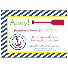 nautical baby shower invitations template free invitations ideas