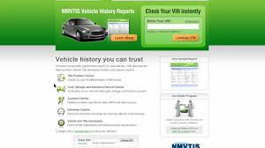 motor website vehicle car history report check vin number and motor vehicle