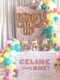 1st birthday party ideas for kara s party ideas donut grow up 1st birthday party kara s party