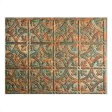 Fasade Kitchen Backsplash Amazon Com Fasade Easy Installation Traditional 1 Copper Fantasy
