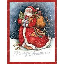 lang believe santa boxed cards