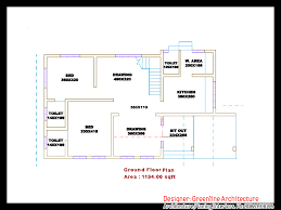 home design 2000 square feet in india 1839 square feet 4bhk kerala contemporary home design with plan