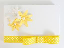 Yellow Wedding Invitation Cards Paper Flowers Vintage Necklace U003d Stunning Wedding Invitation