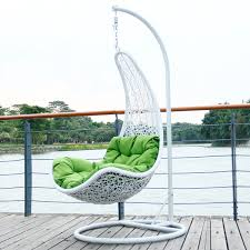 contemporary hanging egg chair hanging basket wicker chair rattan