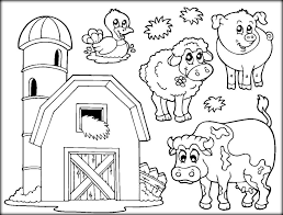 farm animal colouring sheets sparklebox farm animal theme