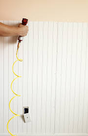 Install Beadboard Wainscoting How To Install Beadboard For An Adorable Baby U0027s Room