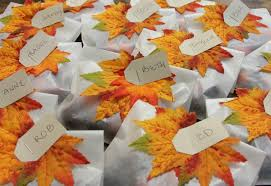 small thanksgiving table favors edible thanksgiving ideas easy