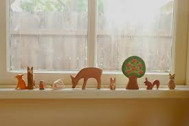 gorgeous ornaments on window sill home rooms