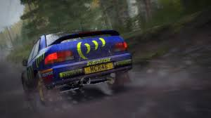 rally subaru dirt rally colin mcrae subaru impreza 1995 finland 001 motion