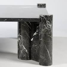 gae aulenti knoll editor coffee table model jumbo in black