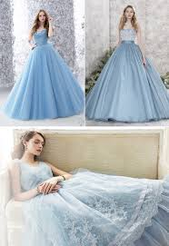 blue wedding dresses the incomparable blue wedding dress milanoo