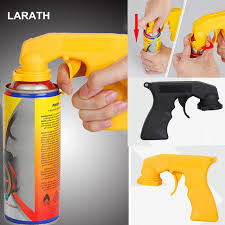 black yellow car dip special handle color spray painting gun rim