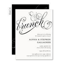 after wedding brunch invitation post wedding brunch invitations weddingbrunch weddinginvitations