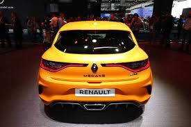 renault motor 2018 renault megane rs powers into frankfurt with 280 hp 1 8l