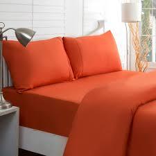 Bob Timberlake King Size Sleigh Bed Burnt Orange Bedding Sheets Destan Reversible Comforter Set