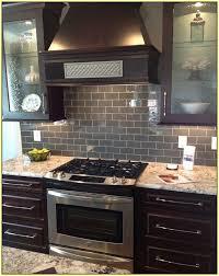 backsplash tiles for dark cabinets subway tile backsplash with dark cabinets home design