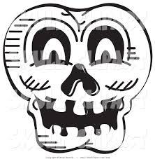 clip art halloween black and white clip art