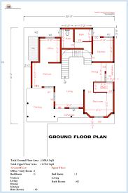 bedroom house floor plan design simple one floor house plans sri