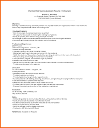 Cna Resume Samples With No Experience by Sample Resume For Cna Of Rock Essay