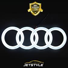audi logo transparent background audi led emblem ebay