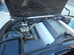 bmw 540i e34 v8 engine start