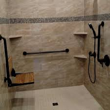 tile roll in showers aging in place remodeling