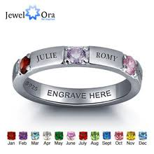 birthstone ring popular custom birthstone rings buy cheap custom birthstone rings