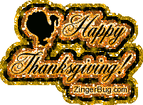 thanksgiving glitter script glitter graphic greeting comment meme