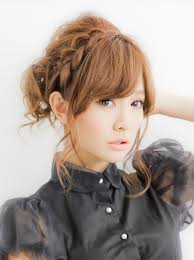 japanese cute braided hairstyle i think i can do this with my