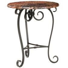 stratford coffee table wrought iron stratford occasional table by stone county ironworks