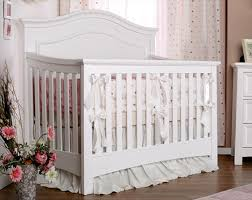 Convertible White Crib Li L Deb N Heir Silva Furniture Baby Cribs Nursery Furniture