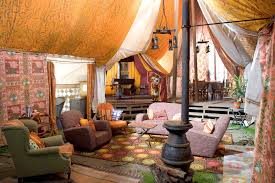 how to achieve a bohemian style for your home tents harry