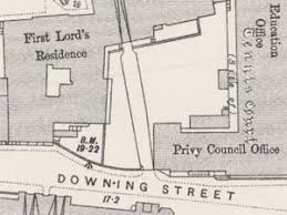 Downing Street Floor Plan Ordnance Survey Maps London Five Feet To The Mile 1893 1896