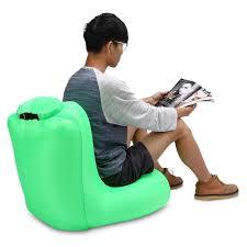 canap hamac portable air canapé gonflable air sac de couchage cing plage lit