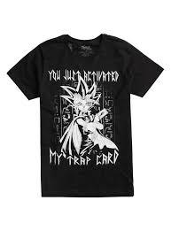 yu gi oh trap card t shirt topic